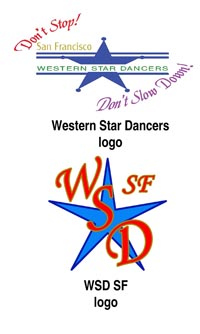 Apparel with Western Star Dancers embroidered logo